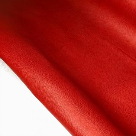Кожа Сафьяно Красный