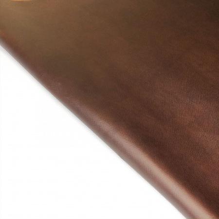 Кожа сафьяно темно-коричневый с эффектом Pull-up