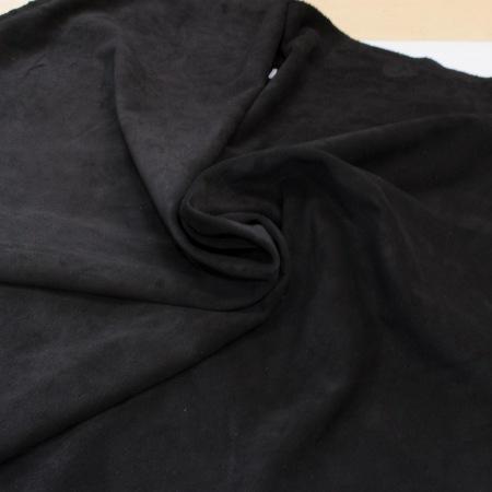 Кожа Спилок велюр (замша), черный