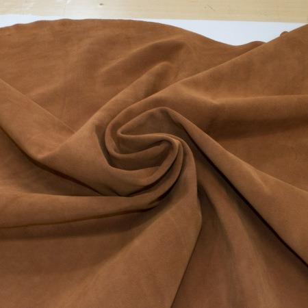 Кожа Спилок велюр (замша), светло-коричневый