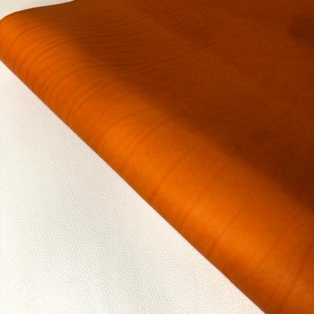 Кожа Вороток матовый, Оранж, 3,5+ мм