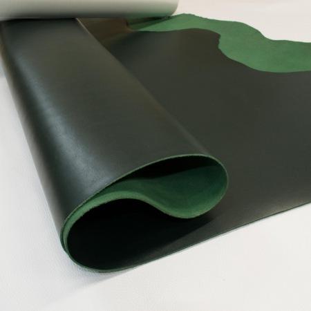 Кожа Вороток зеленый, 2,0-2,2 мм