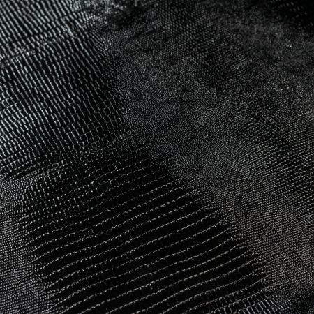 Кожа Ящерица черный