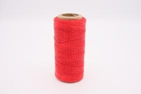 Кожа Нить плоская плетеная вощеная #148