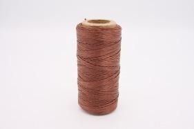 Кожа Нить плоская плетеная вощеная #181