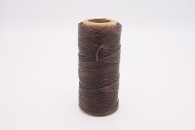 Кожа Нить плоская плетеная вощеная #304