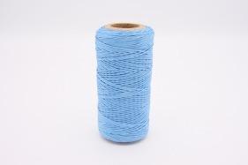 Кожа Нить плоская плетеная вощеная #331