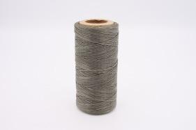 Кожа Нить плоская плетеная вощеная #529