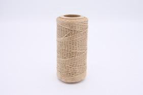 Кожа Нить плоская плетеная вощеная #у894