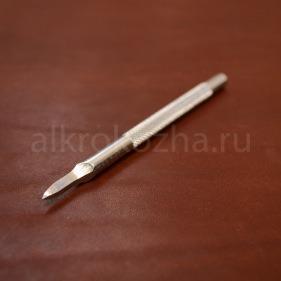 Кожа Пробойник ромбовидный 1 зуб, 6 мм.