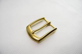 Кожа Ременная пряжка из латуни, 40 мм 001