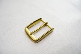Кожа Ременная пряжка из латуни, 40 мм 003