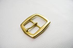 Кожа Ременная пряжка из латуни, 40 мм 009
